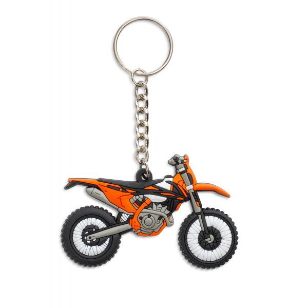 KTM Accesorii-Lifestyle KTM Breloc 250 EXC-F Rubber Keyholder