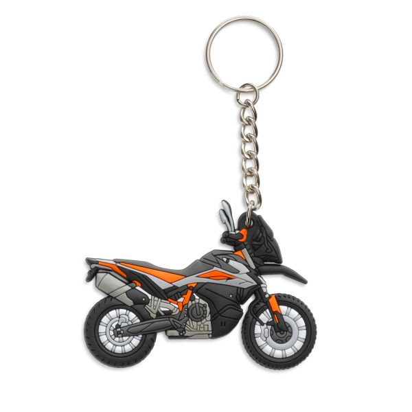 KTM Accesorii-Lifestyle KTM Breloc 790 Adventure R Rubber Keyholder
