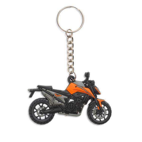 KTM Accesorii-Lifestyle KTM Breloc 790 Duke Rubber Keyholder