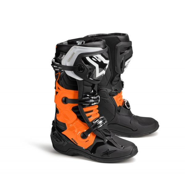 Cizme MX-Enduro KTM Cizme Tech 10 Black/Orange