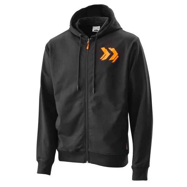 Geci Casual KTM Hanorac Radical Zip Hoodie Black