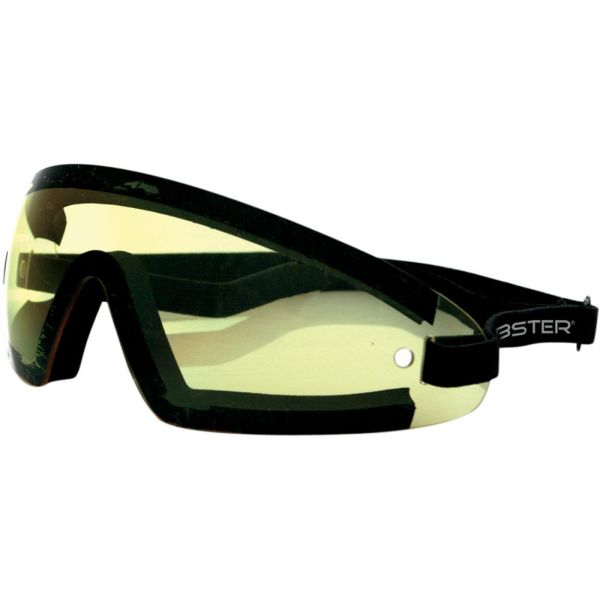 Ochelari Chopper KTM Ochelari Wrap Around Wide Vision Black Lenses Yellow
