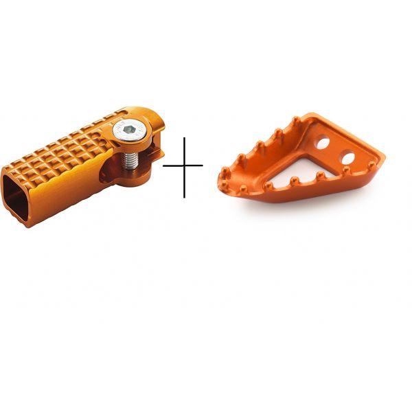 Accesorii MX-Enduro KTM Set KTM Varf Pedala Frana Orange+Varf Pedala Schimbator Orange  17>