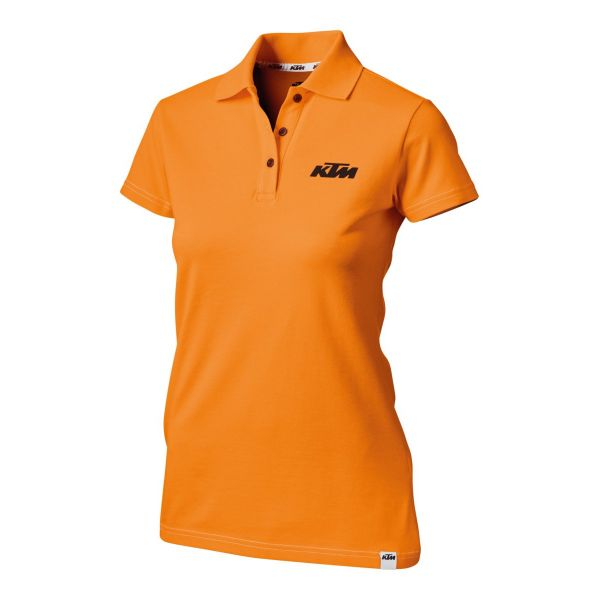 Tricouri/Camasi Casual KTM Tricou Dama Racing Polo Orange