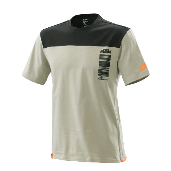 KTM Tricou Pure Style Tee Gray