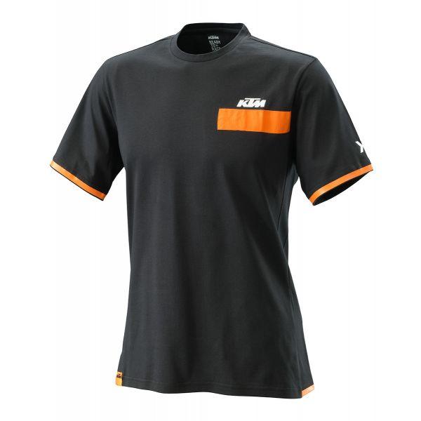 Tricouri/Camasi Casual KTM Tricou Pure Tee Black