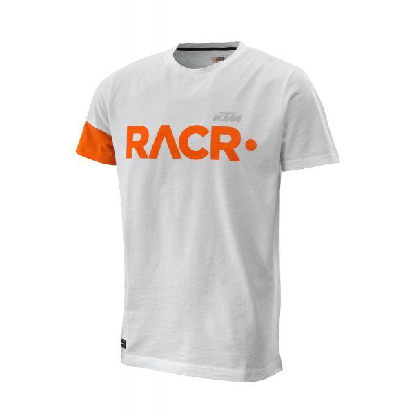 Tricouri/Camasi Casual KTM Tricou Racer 222 Tee White