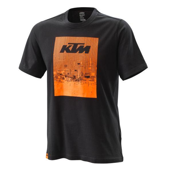 Tricouri Casual KTM Tricou Radical Tee Black