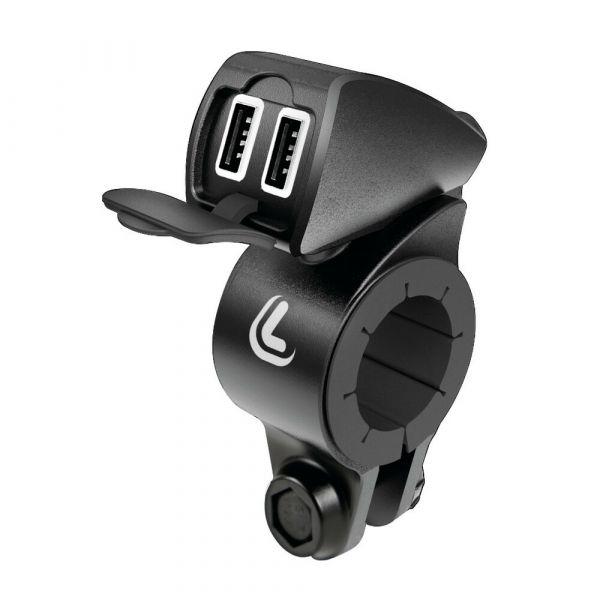 Suport Ghidon Telefon/GPS Lampa Incarcator USB  USB-Fix Trek