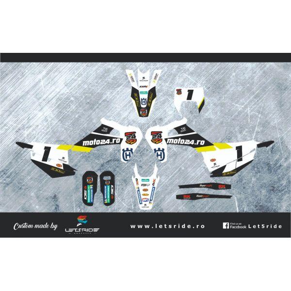 Grafice Moto Lets Ride Kit Grafice Moto24 2019-2020 Husqvarna