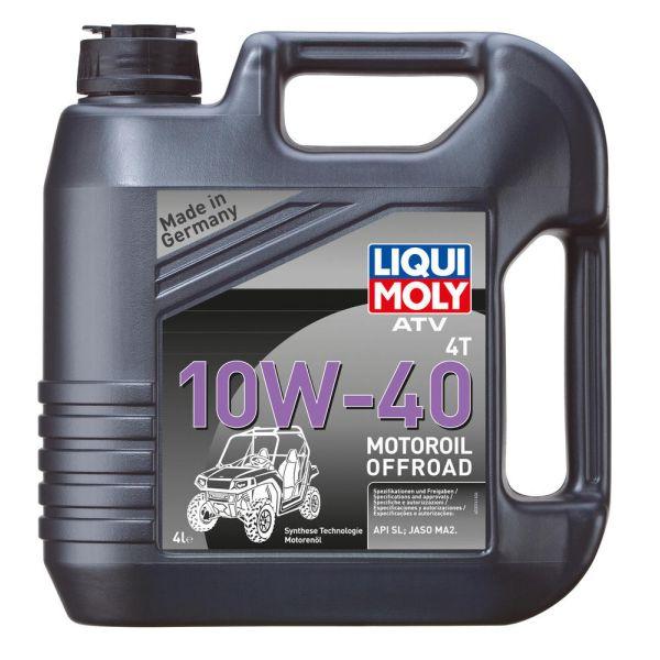 Ulei ATV Liqui Moly Ulei Motor ATV 4T 10W40 4 L 3014