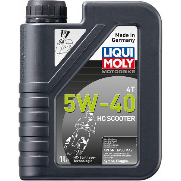 Ulei motor 4 timpi Liqui Moly Ulei Motor Scuter HC 5w40 4T 1L 20829