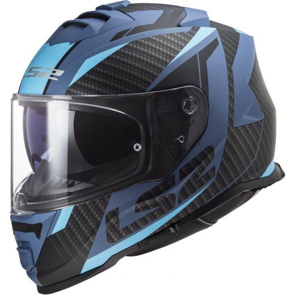 Casti Moto Integrale LS2 Casca Moto Full/Face FF800 Storm Racer Matt Blue 2021