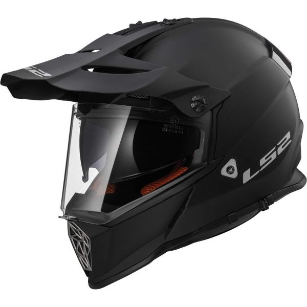 Casti ATV LS2 Casca ATV MX436 Pioneer Solid Matt Black
