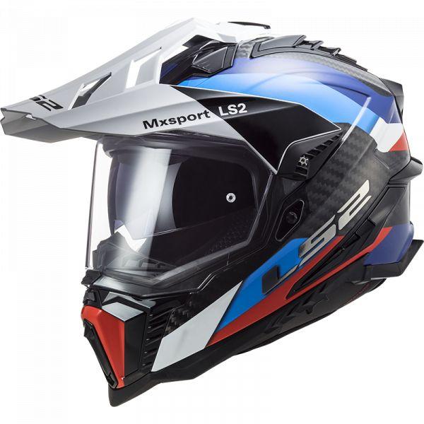 Casti ATV LS2 Casca ATV MX701 C Explorer Frotier Negru Albastru  2021