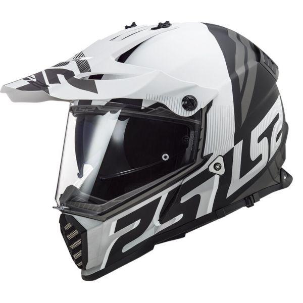 Casti ATV LS2 Casca ATV Pioneer Evo Evolve MX436 Alb- Negru mat 2021