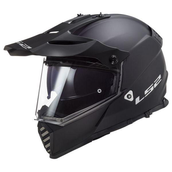 Casti ATV LS2 Casca ATV Pioneer Evo Solid MX436 Negru Mat 2021