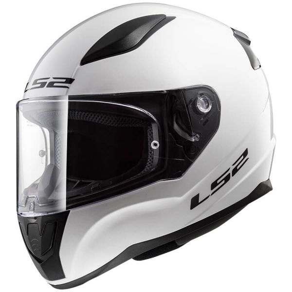 Casti Integrale Copii LS2 Casca Moto Full Face Copii FF353 Rapid Mini Single Alb Lucios 2021