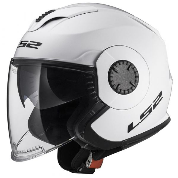 Casti Moto Jet (Open Face) LS2 Casca Moto Jet OF570 Verso White 2021