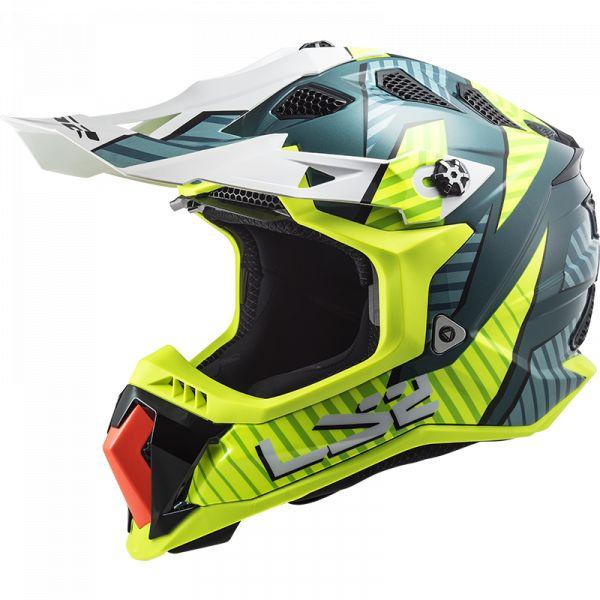 Casti MX-Enduro LS2 Casca Moto MX  MX700 Subverter Astro Cobalt Yellow 2021