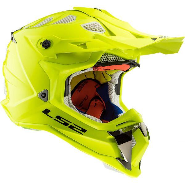 Casti MX-Enduro LS2 Casca MX470 Subverter Solid Yellow 2019