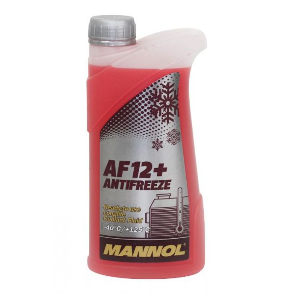 Antigel Mannol MANNOL ANTIGEL AUTO AF12+ (-40) LONGLIFE 1L