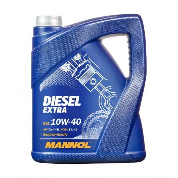 Uleiuri Auto Mannol MANNOL ULEI DIESEL EXTRA 10W-40 SEMI-SYNTHETIC 5L