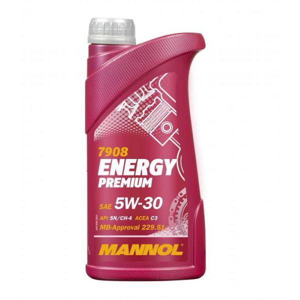 Uleiuri Auto Mannol MANNOL ULEI ENERGY PREMIUM 5W-30 1 L SYNTHETIC