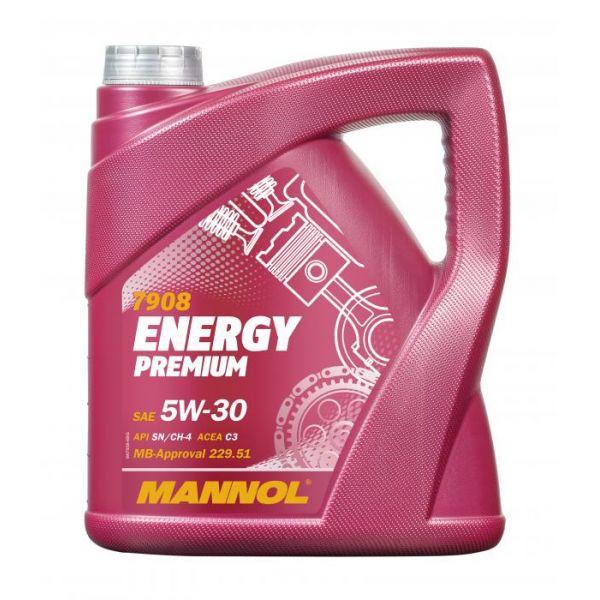 Uleiuri Auto Mannol MANNOL ULEI ENERGY  PREMIUM 5W-30 SYNTHETIC 4L