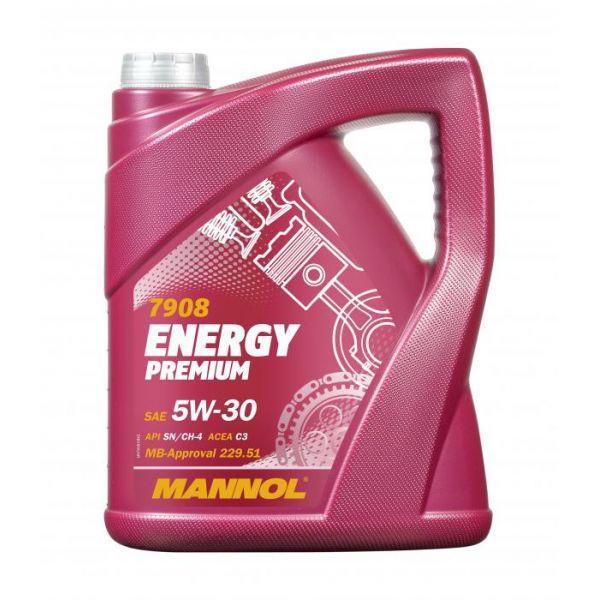 Uleiuri Auto Mannol MANNOL ULEI ENERGY PREMIUM 5W-30 SYNTHETIC 5L