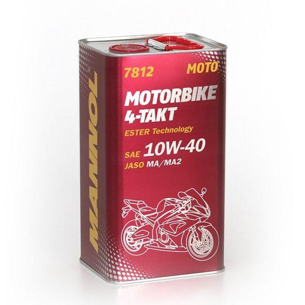 Mannol MANNOL ULEI MOTORBIKE ESTER TECHNOLOGY 4T 10W-40 4L