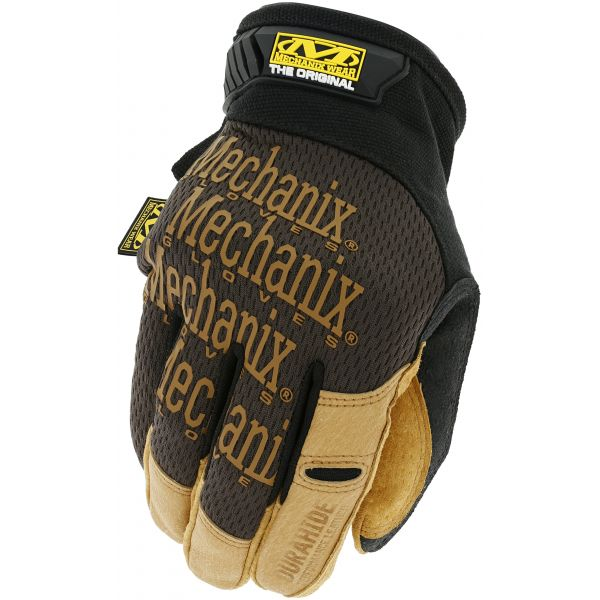 Manusi de Service Mechanix Manusi Service Piele Original Black/Brown 2021