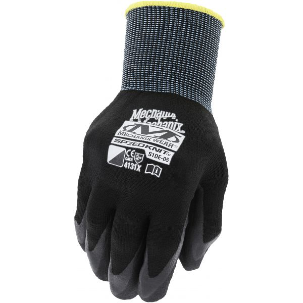 Manusi de Service Mechanix Manusi Service Speedknit Nitril Black 2021