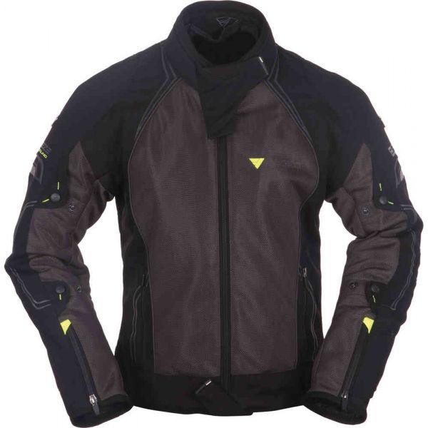 Geci Textil Modeka Geaca Textila Breeze 398 Black/Dark Gray 2020