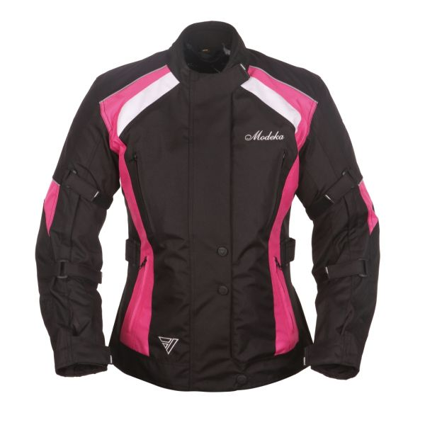 Geci Textil - Dama Modeka Geaca Textila Impermeabila Janika Black/Pink Dama