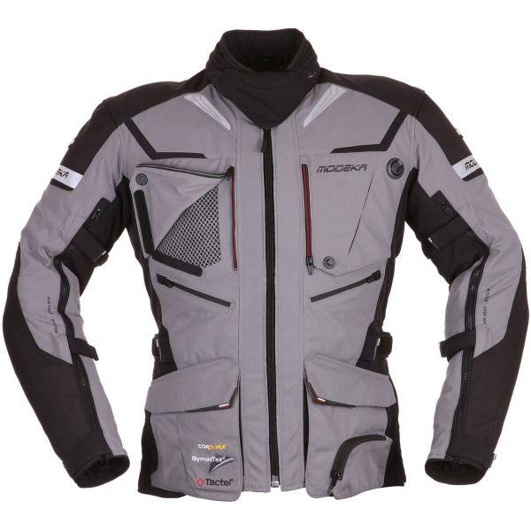 Geci Textil Modeka LICHIDARE STOC Geaca Textila Impermeabila Panamericana Black/Grey