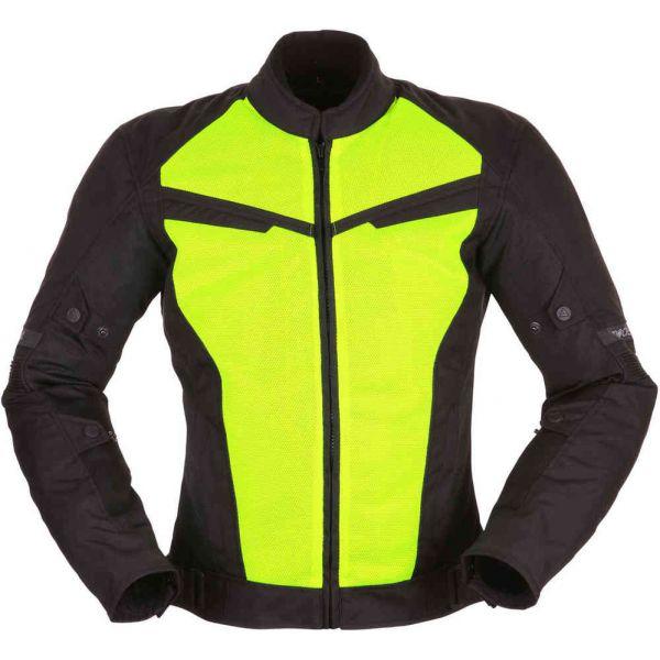 Geci Textil Modeka Geaca Textila Impermeabila Vara X-Vent Black/Yellow