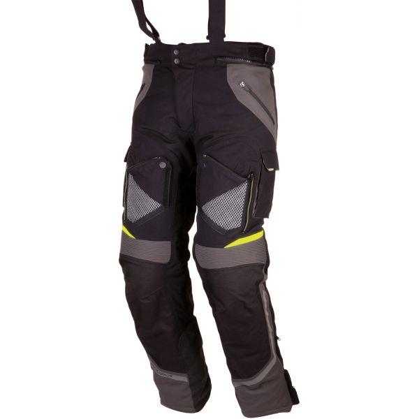 Modeka Pantaloni Textili Impermeabili Panamericana Black/Gray