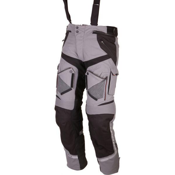 Modeka LICHIDARE STOC Pantaloni Textili Impermeabili Panamericana Gray/Black