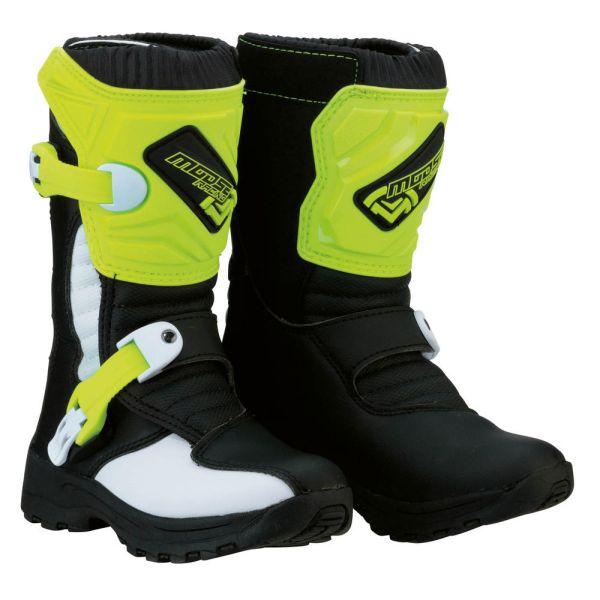 Cizme MX-Enduro Copii Moose Racing Cizme M.1 3 S8 Black/Yellow Copii Mici