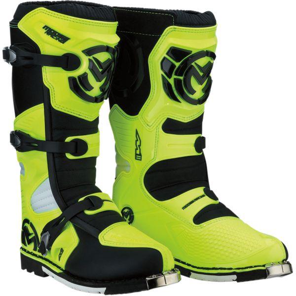 Cizme MX-Enduro Moose Racing Cizme Moto MX M1.3 Yellow/Black 2022