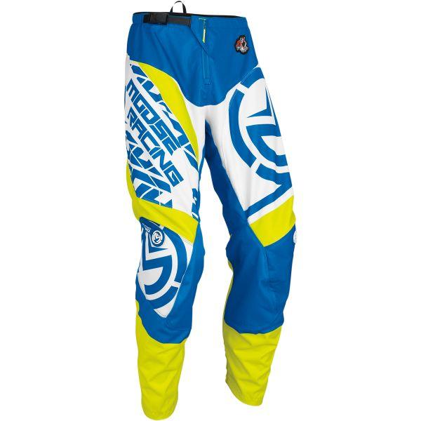 Pantaloni MX-Enduro Moose Racing LICHIDARE STOC Pantaloni S7 Qualifier Blue/Yellow