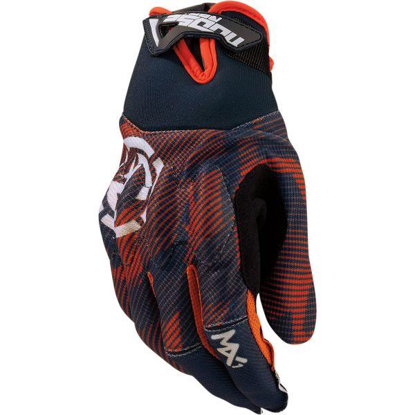 Manusi MX-Enduro Moose Racing Manusi Moto MX MX1 Grey/Orange 2022