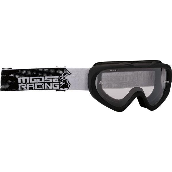 Ochelari MX-Enduro Copii Moose Racing Ochelari Copii Qualifier Agroid Negru 2021