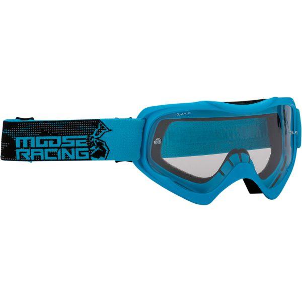 Ochelari MX-Enduro Moose Racing Ochelari Qualifier Agroid Albastru 2021