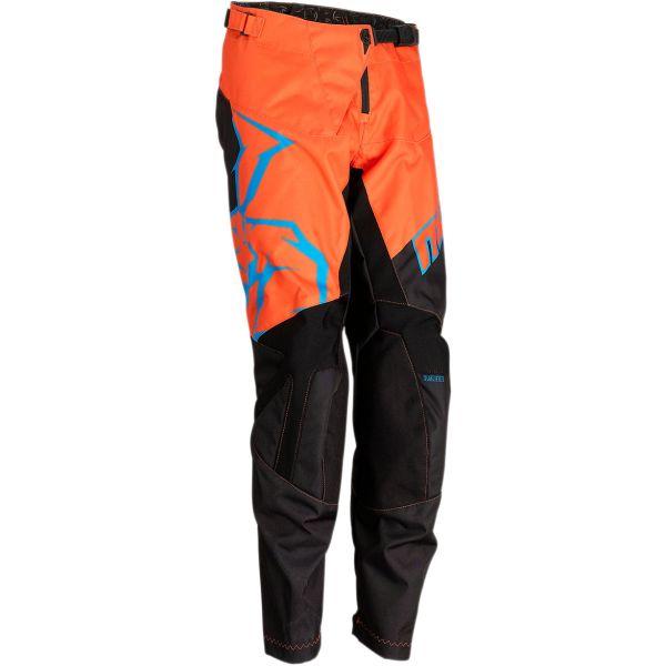 Moose Racing Pantaloni Copii Qualifier S20 Black/Orange