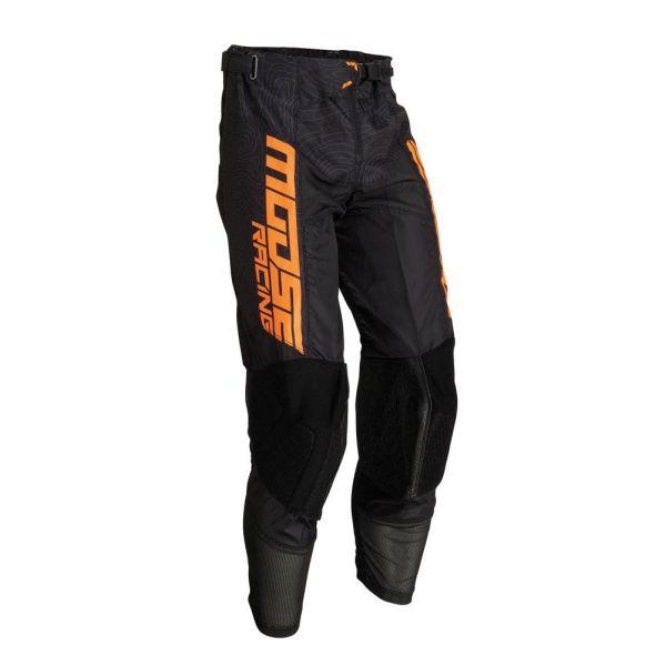 Pantaloni MX-Enduro Moose Racing Pantaloni M1 Agroid Black/Orange 2019