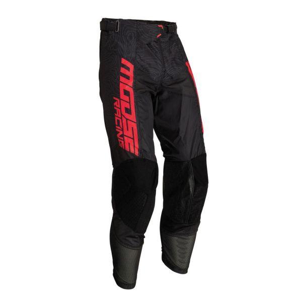 Moose Racing Pantaloni M1 Agroid Black/Red 2019