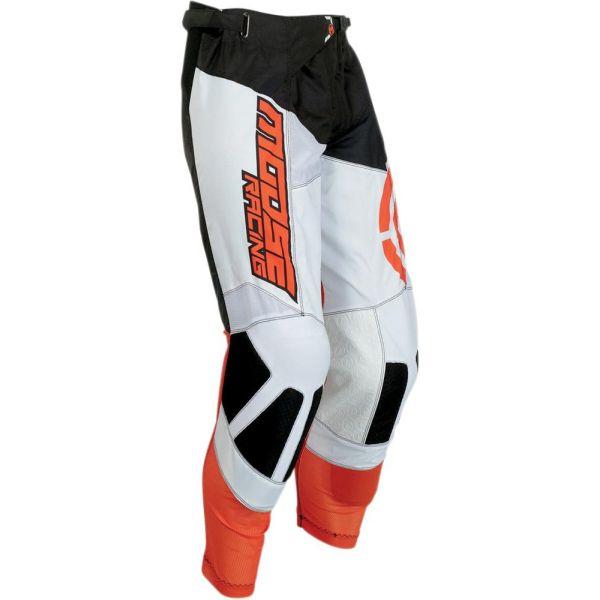 Pantaloni MX-Enduro Moose Racing Pantaloni M1 Black/Orange S9