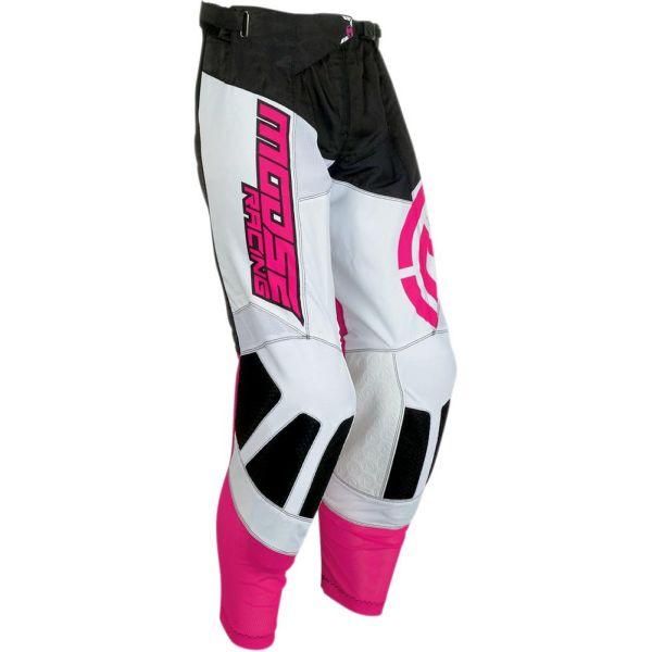 Pantaloni MX-Enduro Moose Racing Pantaloni M1 Black/Pink S9